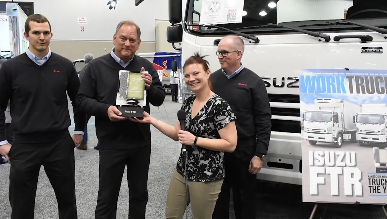 Isuzu FTR: Medium-Duty Truck of the Year