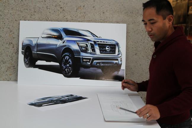 Designing Nissan's 2016 Titan Pickup
