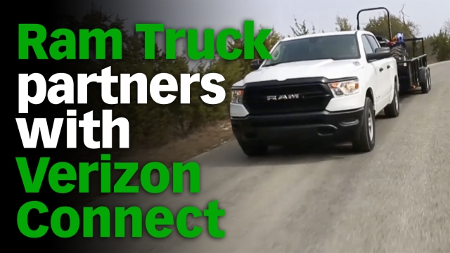 Ram's Verizon Connect-Powered Telematics