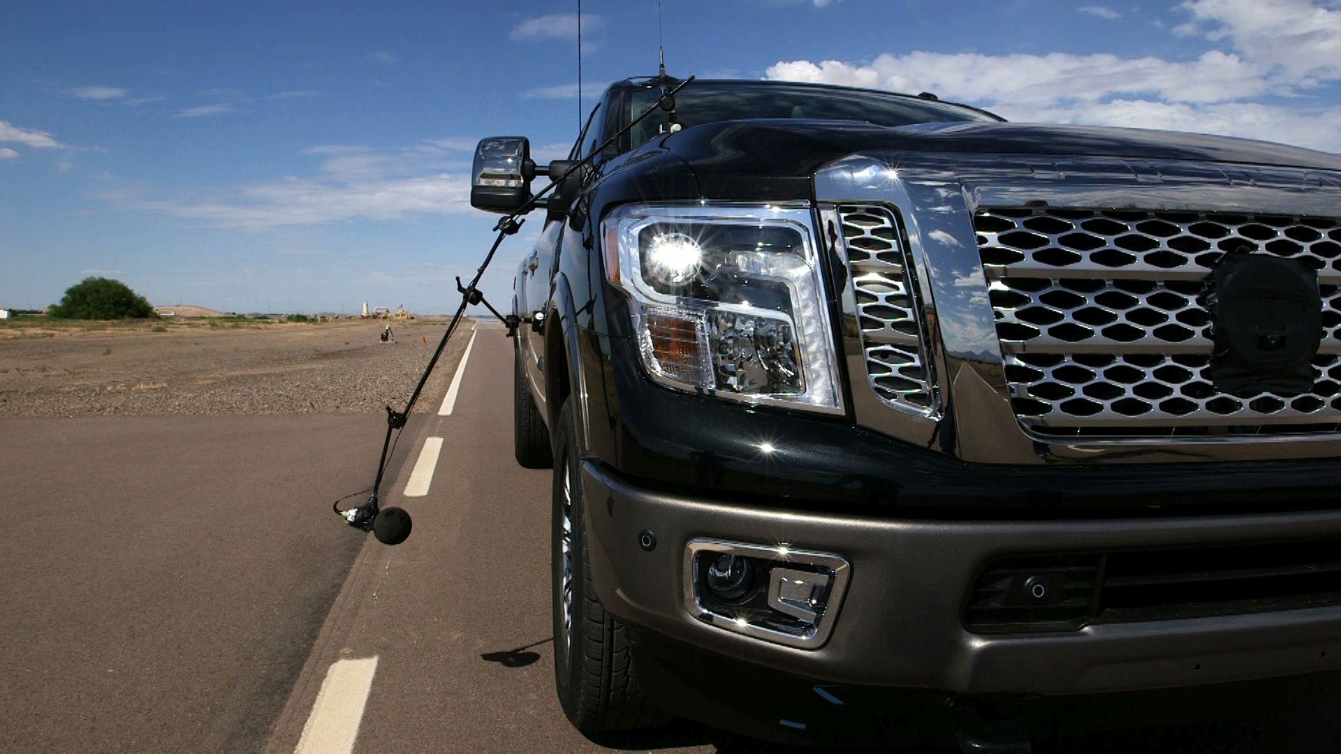 Nissan Engineers Limit Titan's Noise, Vibration