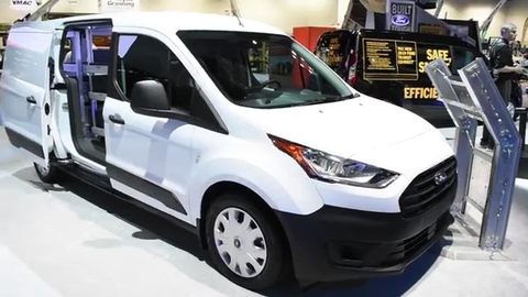 2019 Ford Transit Connect Cargo Van's New Features