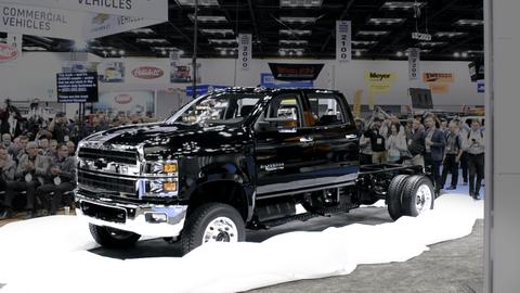 Chevrolet's Silverado 4500HD