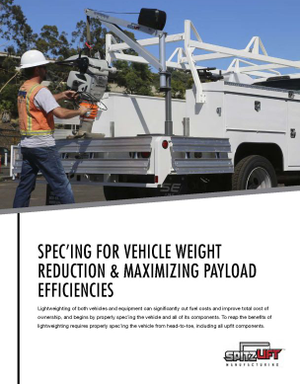 Spec'ing for Vehicle Weight Reduction & Maximizing Payload Efficiencies