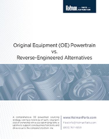 Original Equipment (OE) Powertrain vs. Reverse-Engineered Alternatives