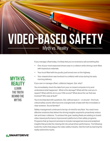 Video Safety Myth vs. Reality